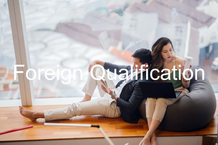 LLC Foreign Qualification
